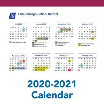 Days Added to 2020-21 School Calendar