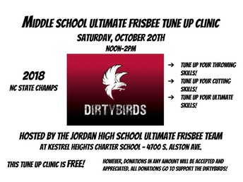 Ultimate Frisbee Tune-Up Clinic