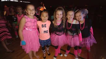 2nd grade friends at the dance