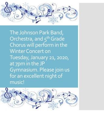 JP Winter Concert