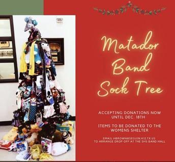 Matador Band Sock Tree