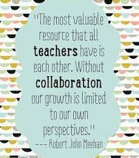 Teachers Need Each Other