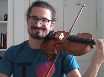 Albert Zorrilla, violí Suzuki