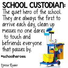 School Custodian Appreciation Day is Oct. 2