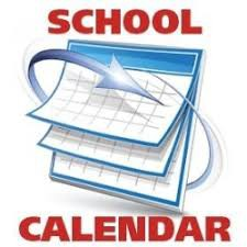 See the attached document to get a copy of our school calendar for next year.