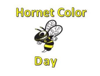 FRIDAY - School Pride - Wear your school colors!