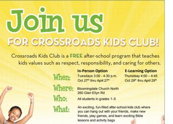 Crossroads Kids Club