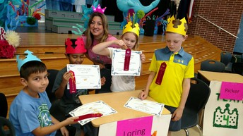 Mrs. Loring's Battle of the Books Team