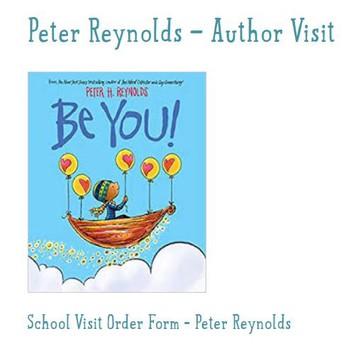 Peter Reynolds Author Visit Book Order Form