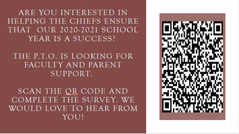 Use your phone's camera and scan the code for easy PTO sign up!