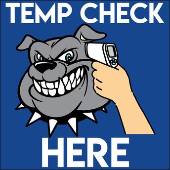 Student Temp Check - Door one