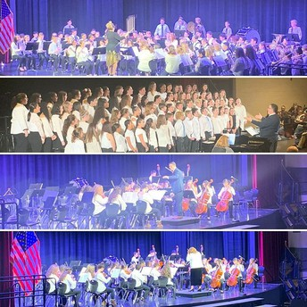Students Shine at Winter Concert