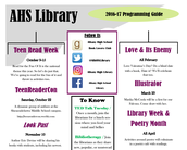 Library Events Calendar Now Available