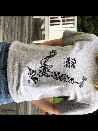 Purchase a Scituate Print T-Shirt From Senior Sarah Bannon!  2-Day Sale