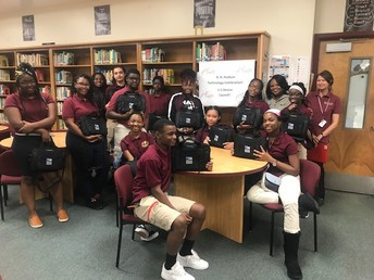 R. B. Hudson Students Receive Dell Laptops as Hudson Goes 1:1