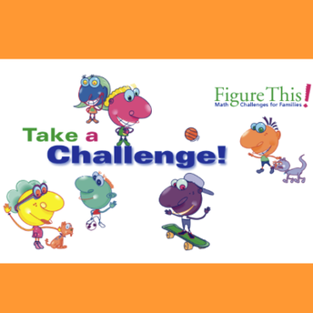 Screenshot of the Figure This Math Challenge site