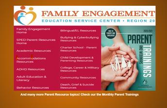 Parent Trainings-Region 20 Educational Center