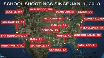 2018 School Shootings