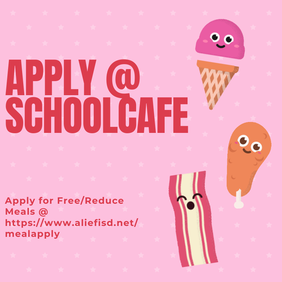Apply for Free/Reduced Meals for SchoolCafe