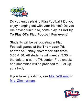 Flag Football Event