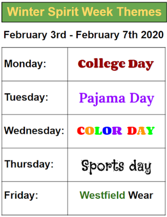 Get Your Gear Ready for Spirit Week