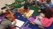 Students using Thinkmarks