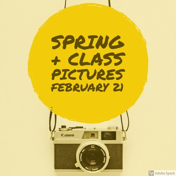 Spring and Class Pictures Coming Soon