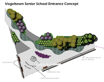 Senior school new entranceway