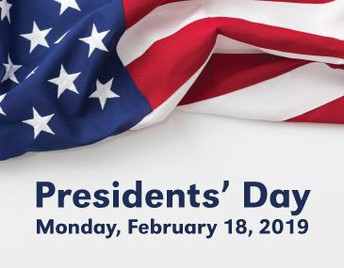 No School ~ President's Day