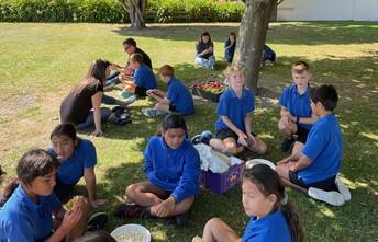Lunch in Otaki