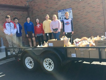 979 Pounds of Canned Food Donated