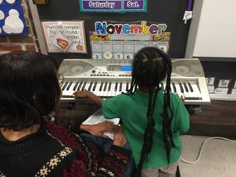 Ms. Patti + Ms. Tolbert's Music Instruction