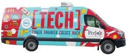 April 4th - Perot Tech Truck Family Science Night 5:30-7:30
