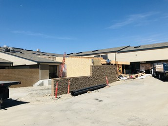 New loading dock and cafeteria expansion