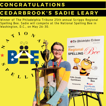 CBK's Sadie Leary Advances to National Spelling Bee