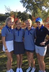 Girl's Golf Participates in Spooktacular