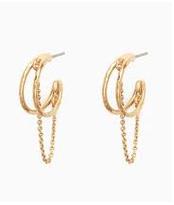 Illusive Hoop Earring
