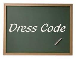 Dress code is very strictly followed