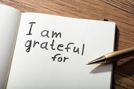 #3 GRATITUDE  (Place your focus on all you currently have that's going really well)