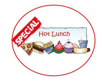 SPECIAL 8TH GRADE FUNDRAISER LUNCHES