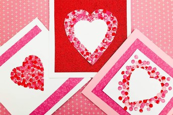 Make a Valentine's Day Card for Local Seniors