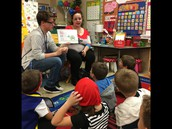 French Students from KHS came and read to us!