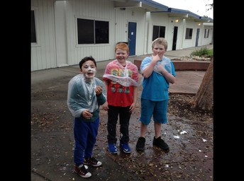 """""""Pie in the Face"""" Fundraising Fun in Mrs. Morebeck's Class!"""