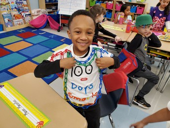 1st Grade Celebrates 100!