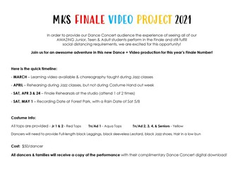 2020-21 Finale Video Project