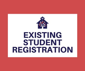 Registration Begins for Existing Students