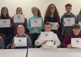 7th grade essay winners