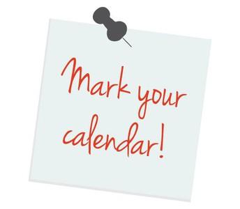 ¡Márcalo en tu calendario!