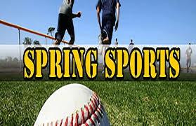 Spring Sports Start Soon!