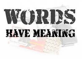 Words Have Meaning